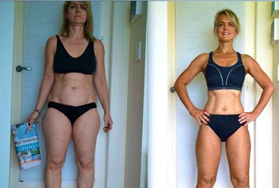 Bernadette george before/after